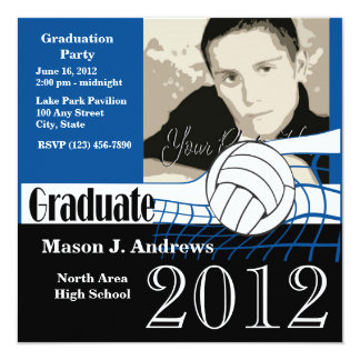 Graduate 2012/ Volleyball Card