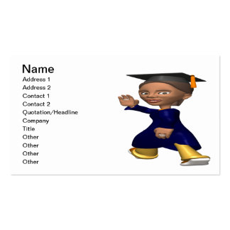 Graduate 2 Double-Sided standard business cards (Pack of 100)