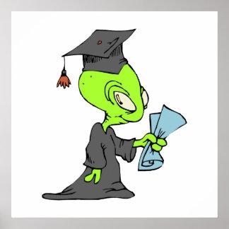 Graduate Alien Poster