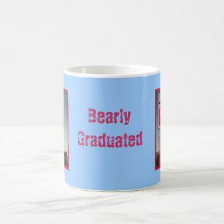 Graduate bear bearly graduated coffee mug