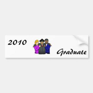 Graduate Car Bumper Sticker