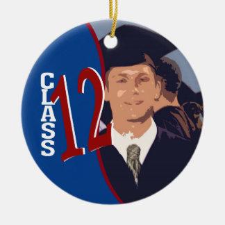 Graduate Class of 2012 Round Ceramic Decoration