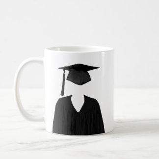 Graduate Class of Cap and Gown Template2 Coffee Mugs