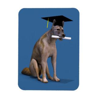 Graduate Coyote Rectangular Photo Magnet