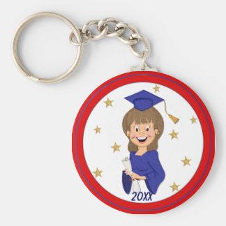 Graduate Girl 2015 Key Chains