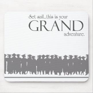 graduate ~ grand adventure mouse pad