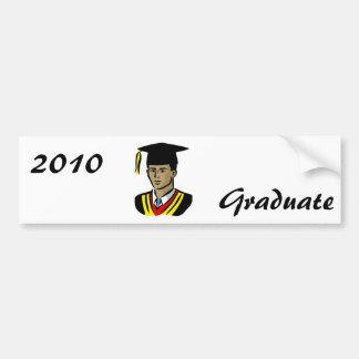 Graduate Guy Bumper Stickers