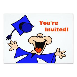 Graduate Jumping for Joy Invites