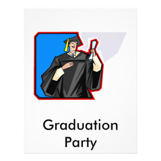 Graduate Man 21.5 Cm X 28 Cm Flyer