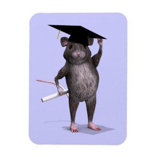 Graduate Mouse Rectangular Photo Magnet