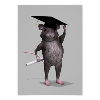 Graduate Mouse Poster