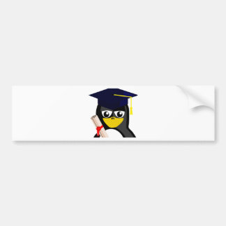 Graduate Penguin Bumper Stickers