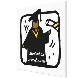 Graduate Receiving Diploma (1) Canvas Prints