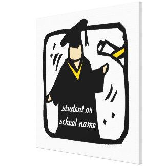 Graduate Receiving Diploma (2) Canvas Prints