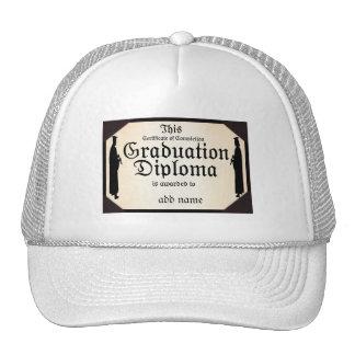 Graduate Standing Tall Diploma Hats