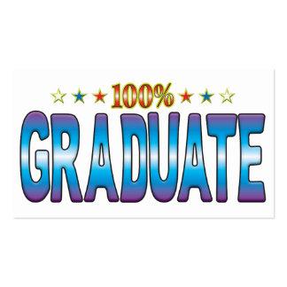 Graduate Star Tag v2 Business Card Templates