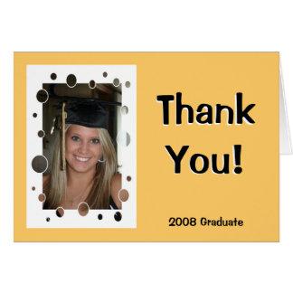 Graduate Thank You Card