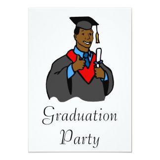 Graduate Thumbs Up 13 Cm X 18 Cm Invitation Card