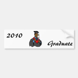 Graduate Thumbs Up Car Bumper Sticker