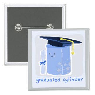 Graduated Cylinder 15 Cm Square Badge