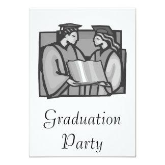 Graduates 13 Cm X 18 Cm Invitation Card