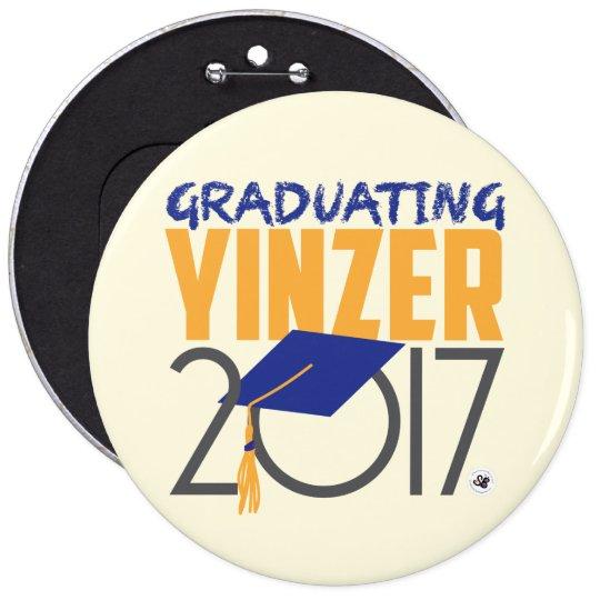 Graduating Yinzer 2017 Mega Pin