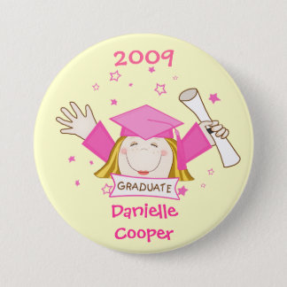Graduation 2009 Girls Button