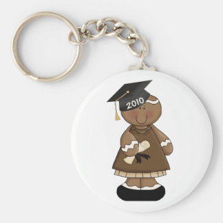 graduation 2010 gingerbread girl key ring