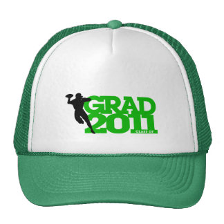 Graduation 2011 Hat 4 Football