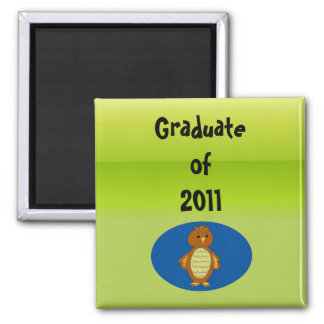 Graduation 2011 square magnet