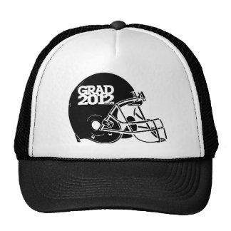 Graduation 2012 Hat Football Helmet