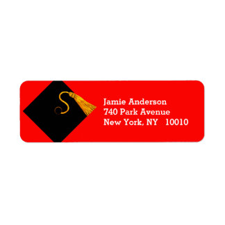 Graduation 2017 return address label