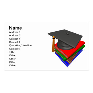 Graduation 2 Double-Sided standard business cards (Pack of 100)