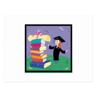 Graduation 4 postcard