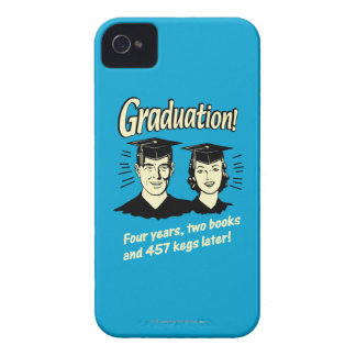 Graduation: 4 Years, 2 Books iPhone 4 Case-Mate Case
