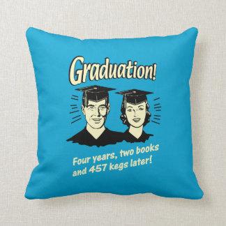 Graduation: 4 Years, 2 Books Cushion