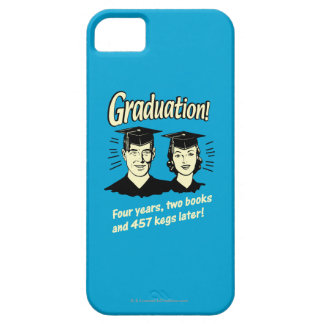 Graduation: 4 Years, 2 Books iPhone 5 Cover