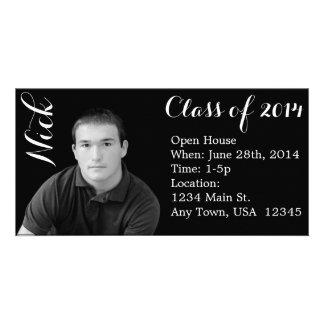 Graduation Announcement Personalized Photo Card