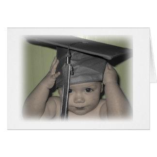 graduation baby! card