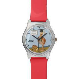 Graduation, Baby Sandhill Crane, Name Wristwatches
