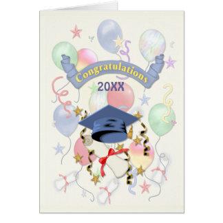 Graduation Balloons 2012 Greeting Card