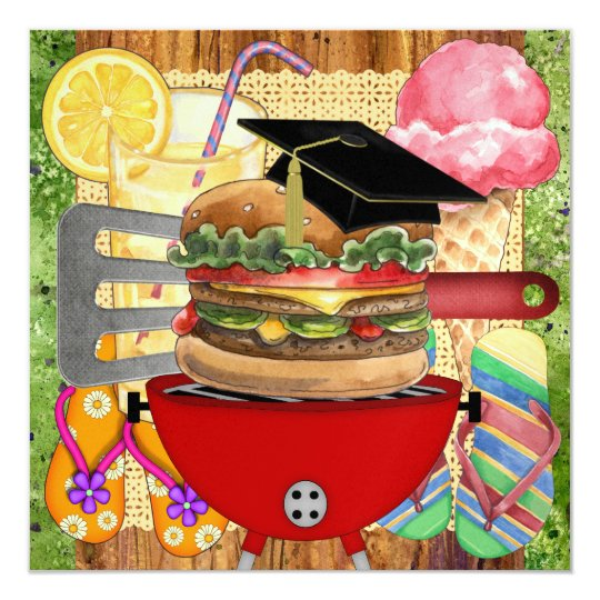 Graduation BBQ Cook Out ! SRF Card