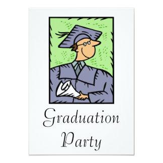 Graduation Boy Announcement