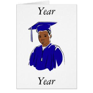 Graduation Boy Note Card