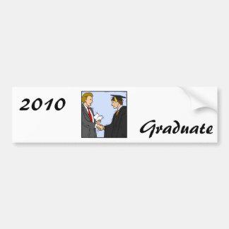 Graduation Bumper Sticker