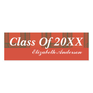 Graduation Business Card
