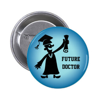 Graduation Button - Future Occupation