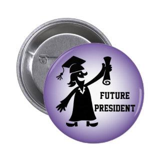 Graduation Button - Future President
