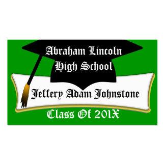 Graduation Cap And Diploma Graduate s Custom Card Business Card