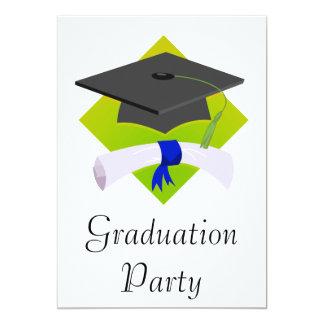 Graduation Cap & Diploma Custom Invitations